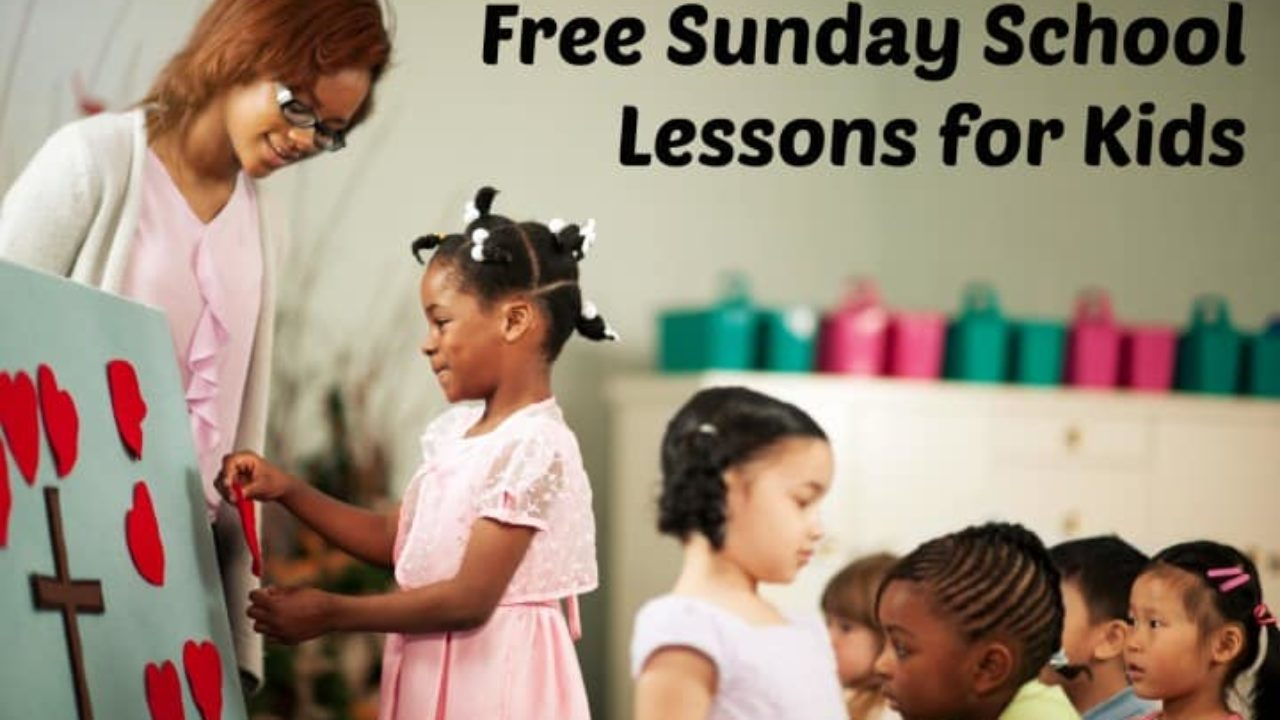 picture about Free Printable Children's Church Curriculum identified as Sunday University Courses for Children (100% No cost) Ministry-Towards-Young children