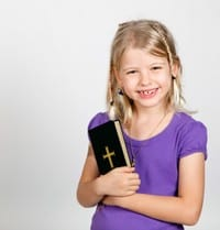 Image result for child with Bible