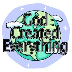 Creation Bible Story Book for Children