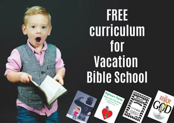 Free Vacation Bible School Curriculum (7 VBS Programs) Easy Download