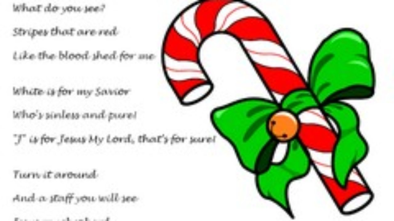 photograph about Candy Cane Poem Printable identify Sweet Cane Poem regarding Jesus (Printable Handout)