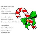 photo relating to The Story of the Candy Cane Printable titled Sweet Cane Poem more than Jesus (Printable Handout)