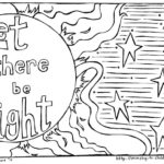Let There Be Light Coloring Pages Coloring Pages Ideas