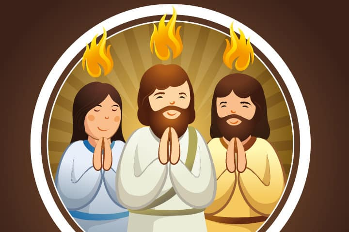 Children's Bible Lesson: The Pentecost Party (Acts 2:1-21)