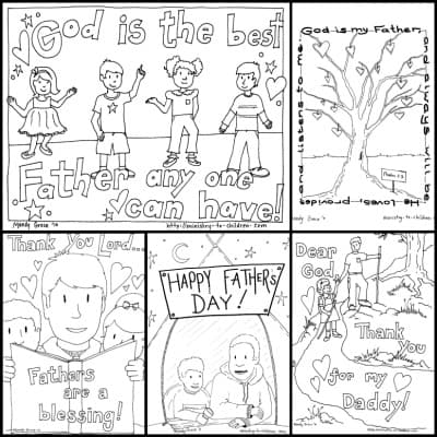 Father 39 s Day Coloring Pages 100 Free Easy Print PDF