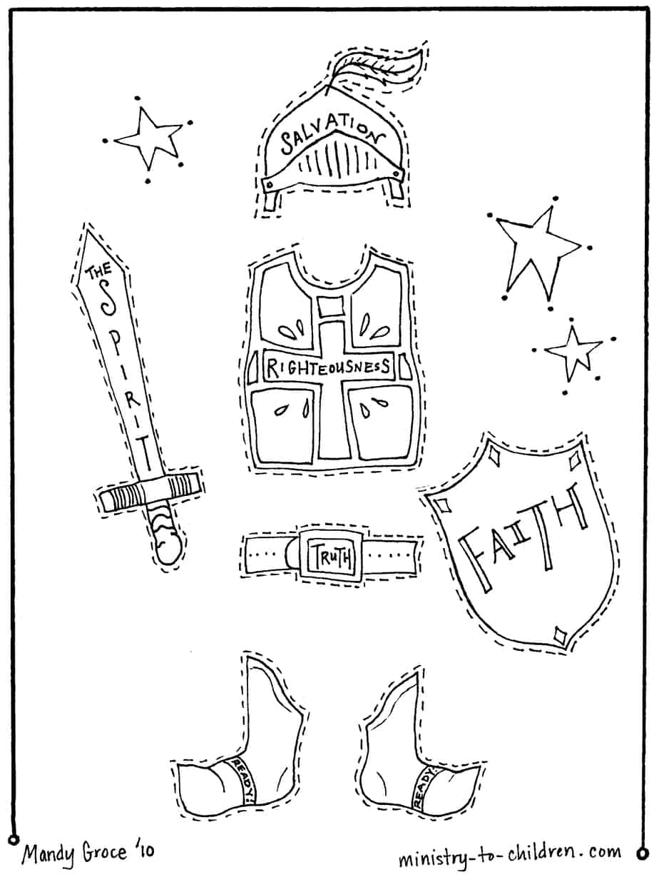 suit of armor coloring page coloring pages