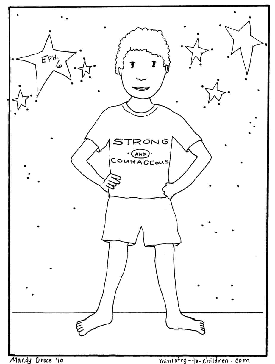 Free The Whole Armour Of God Coloring Pages Armor Of God Coloring Pages