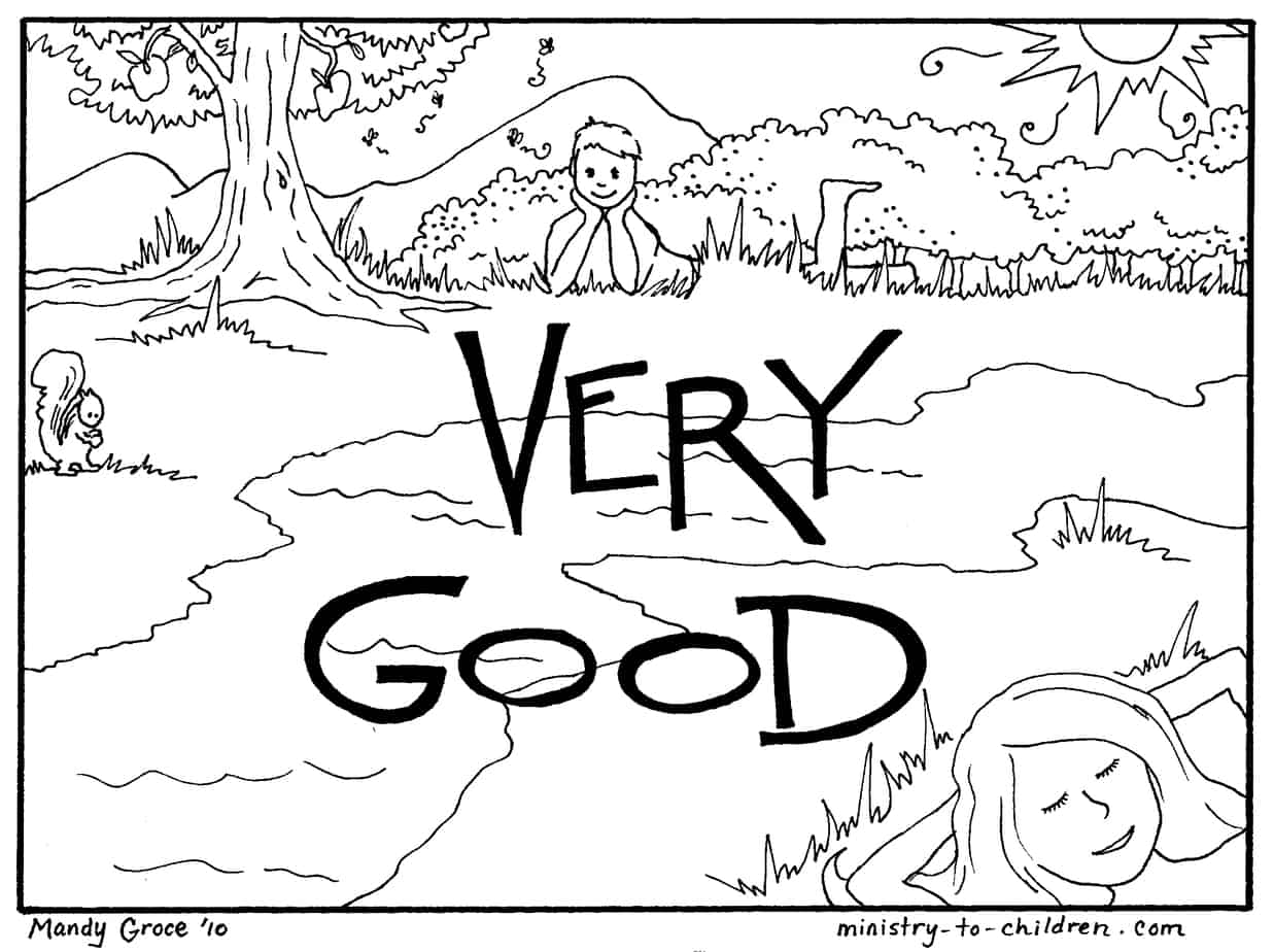 in the bible coloring pages-#45