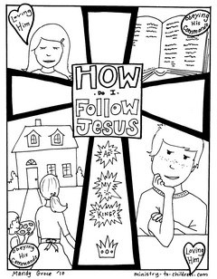 Sunday School Coloring Pages on Directions   To Download This File As A Printer Friendly Pdf   Simply