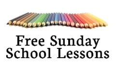 Free Sunday School Lesson