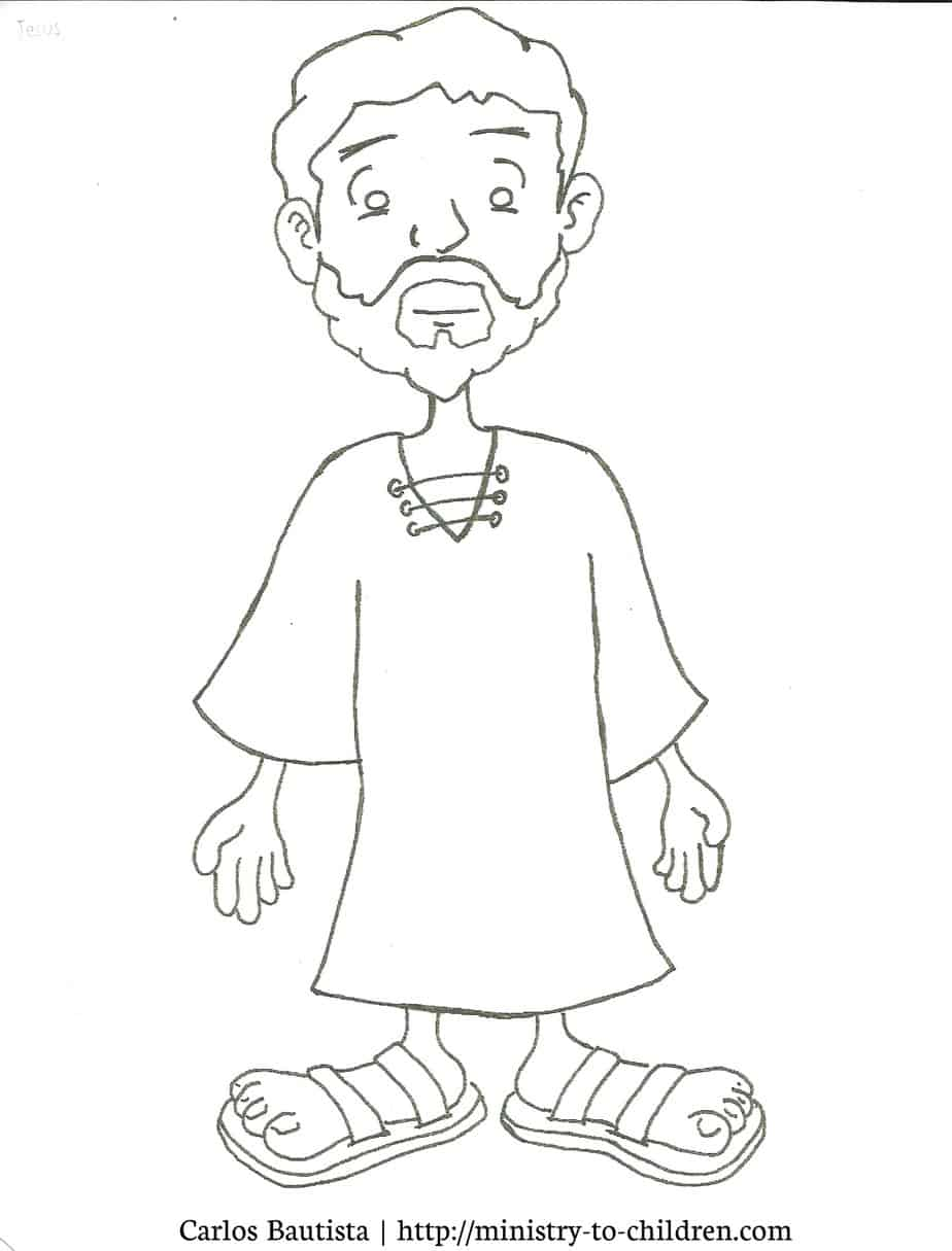 Free Coloring Pages Of Lame Man