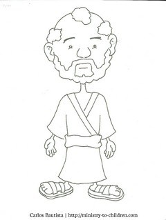 Free Peter Coloring Page for Kids