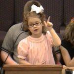 Bible Storytelling Jonah little girl