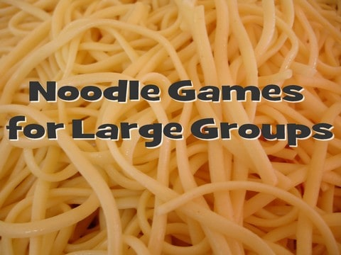 Kids Game Ideas Using Noodles