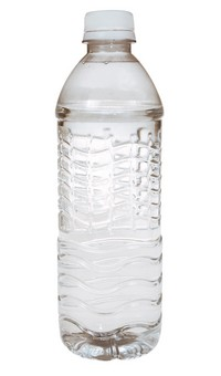 Clear Water Bottle