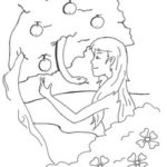 Eve Coloring Page