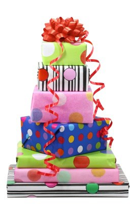Image result for image of birthday presents