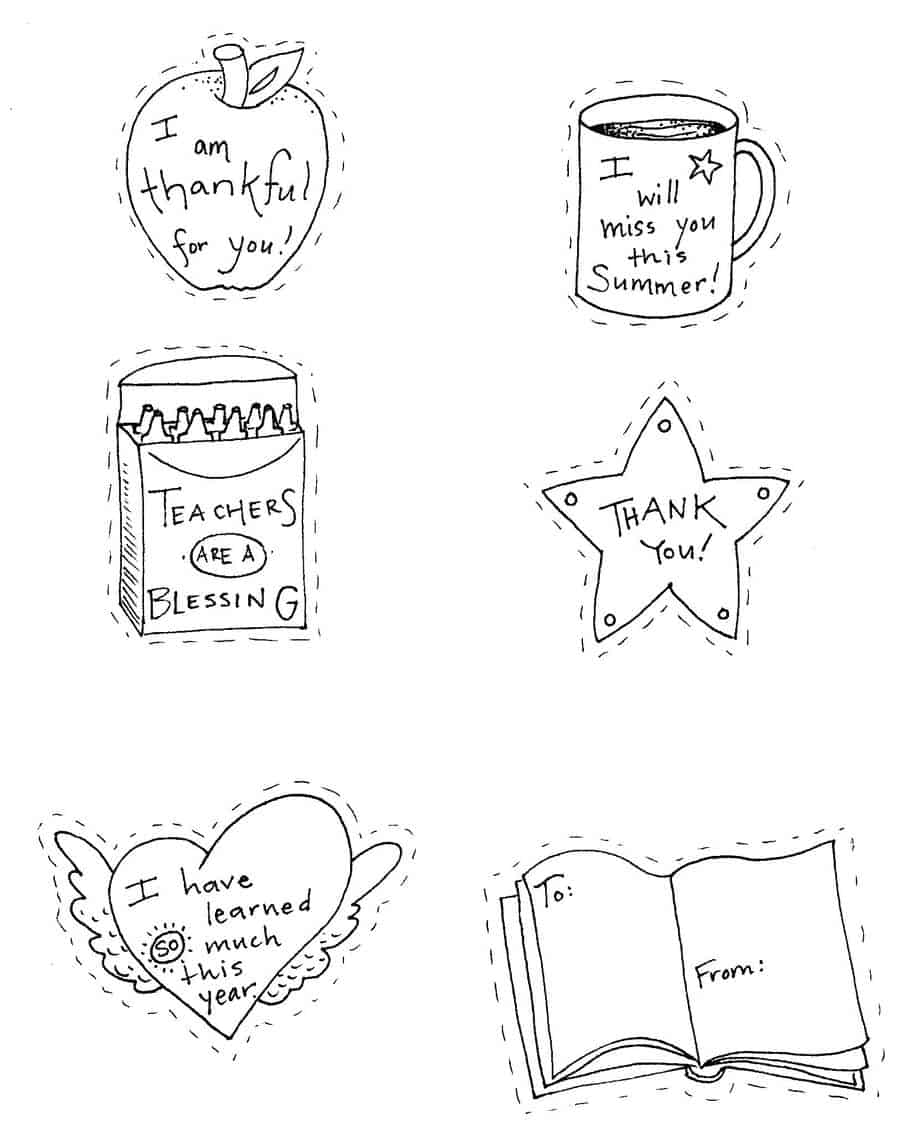 - Teacher Appreciation Coloring Pages