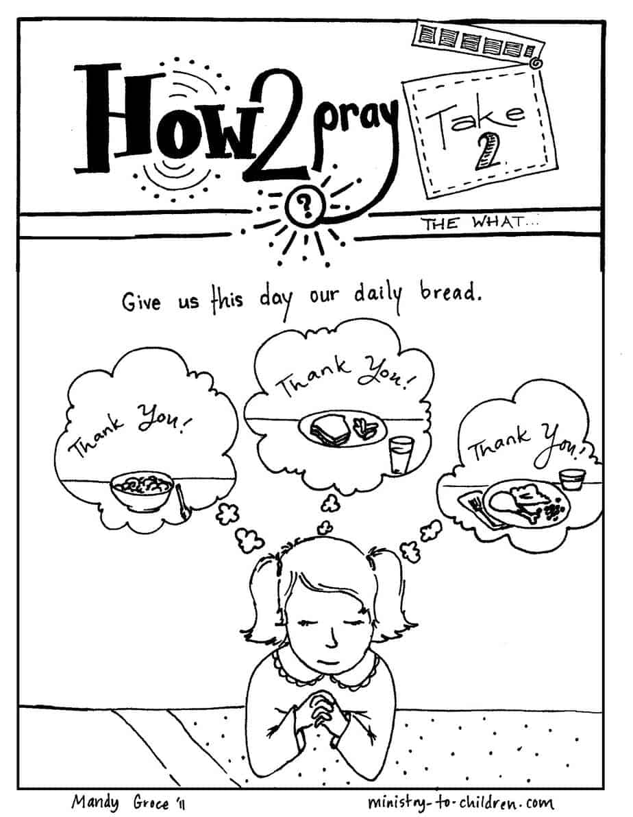 Coloring Page From Ministry To Children