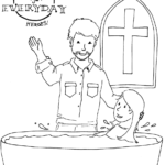 coloring sheets for kids to gift to pastor