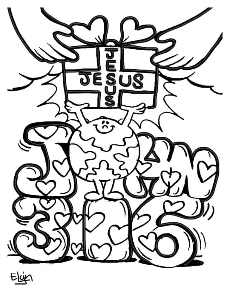 - Christian Valentines Day Coloring Pages About Love (100% Free)