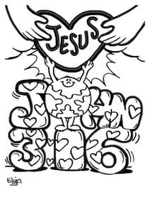 Jesus is God's valentine to the world John 3:16
