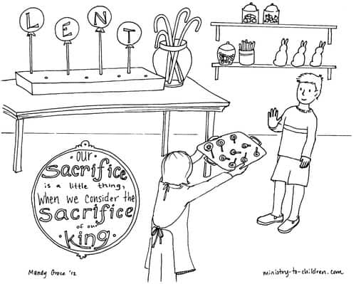 Lent Coloring Pages For Children Ministrytochildrenrhministrytochildren: Lent Coloring Pages Printable At Baymontmadison.com