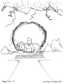 Quot Daniel In The Lion S Den Quot Coloring Pages Ministry To