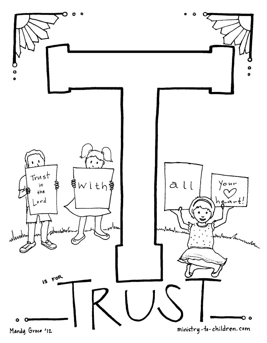 quot T is for Trust quot Bible Alphabet