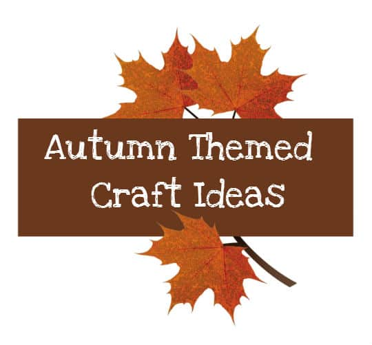 Autumn Crafts for Sunday School