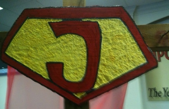 How to Carve a Foam Superhero Emblem - Ministry-To-Children