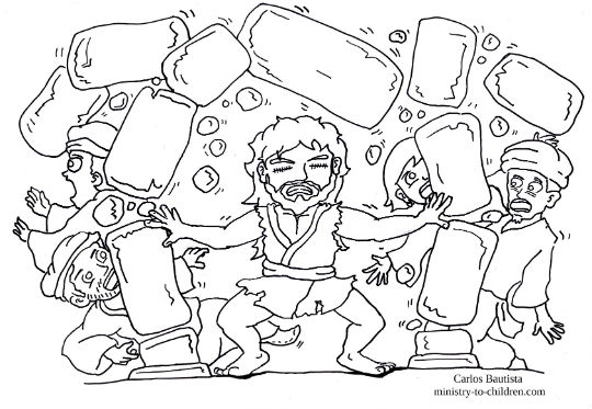 free samson coloring pages - photo#25