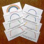 rainbow booklet craft on God's promises