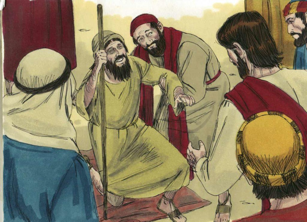 Jesus Heals a Blind Man (Luke 18)