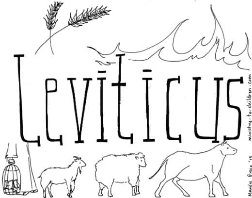 quot Book of Leviticus quot Bible Coloring