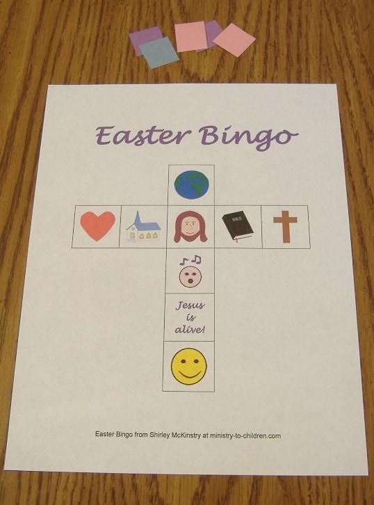 Christian Easter Bingo Cards | Search Results | Calendar 2015