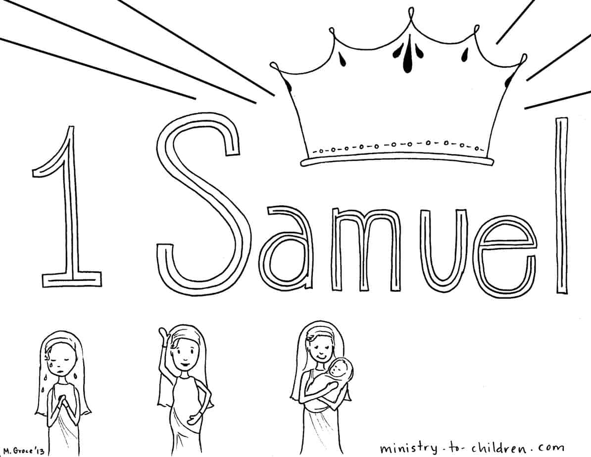 hannah and samuel coloring pages - photo#28