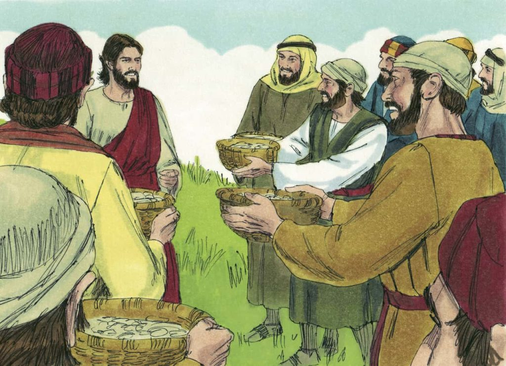 Bible Lesson Skit Jesus Feeds Five Thousand John 6