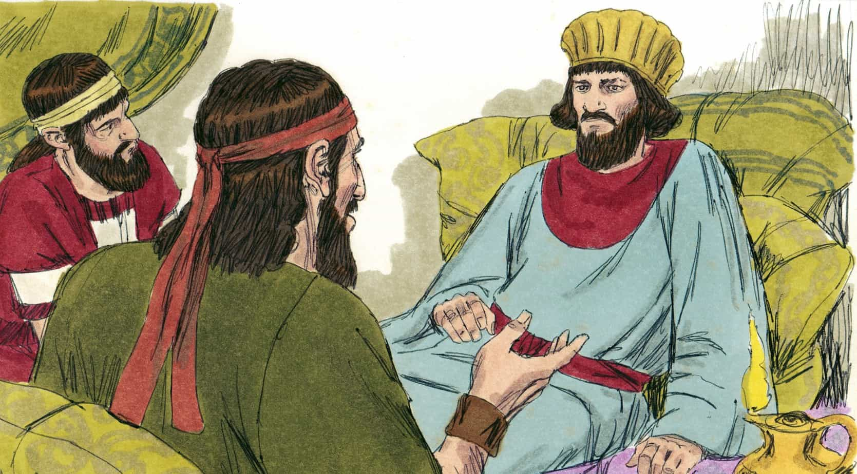Bible Lesson Nehemiah 39 s Burden