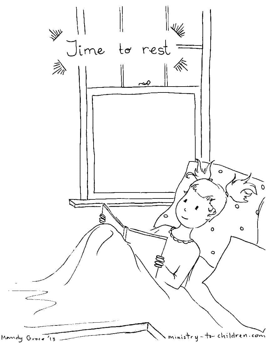 daily coloring pages - free coloring pages of daily routine