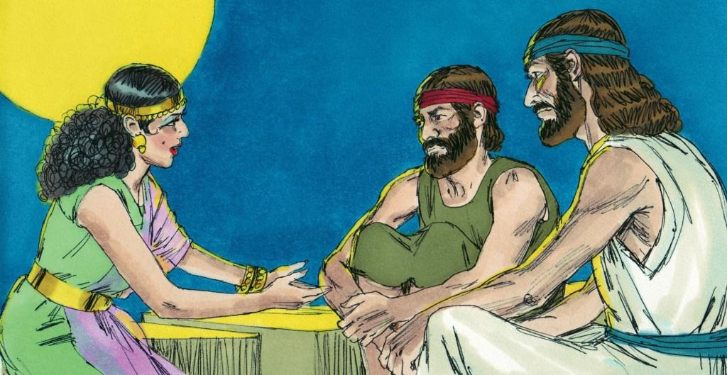 Bible Story Skit Rahab and the