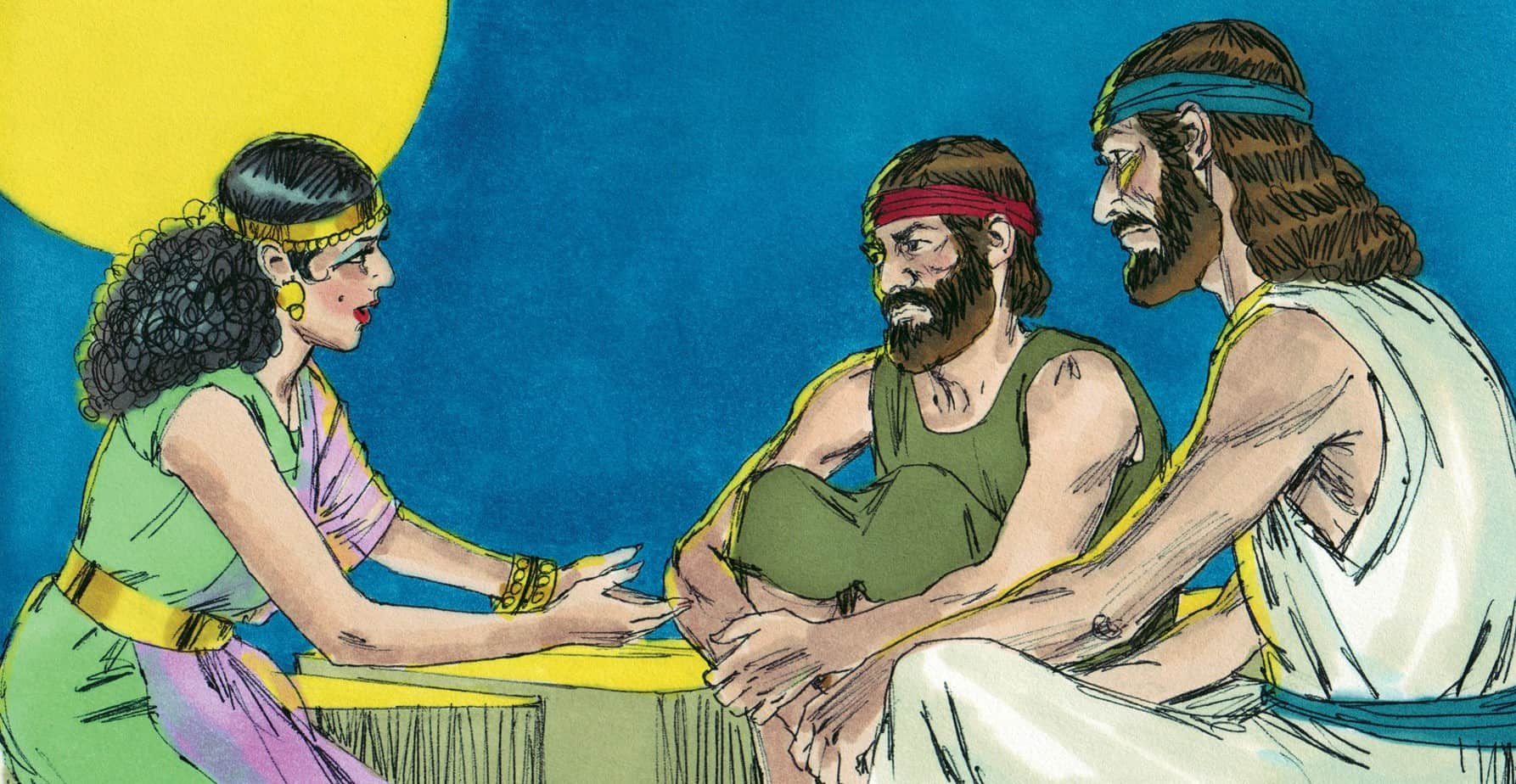 bible story skit rahab and the spies joshua 2