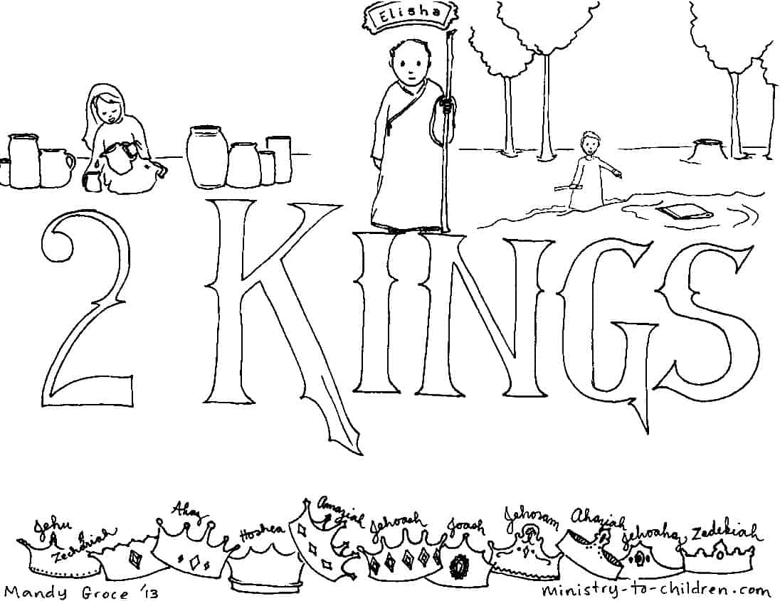 Free Coloring Pages Of King Solomon Temple