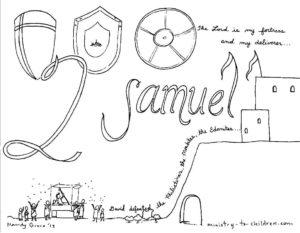 quot Book of 2 Samuel quot Bible Coloring