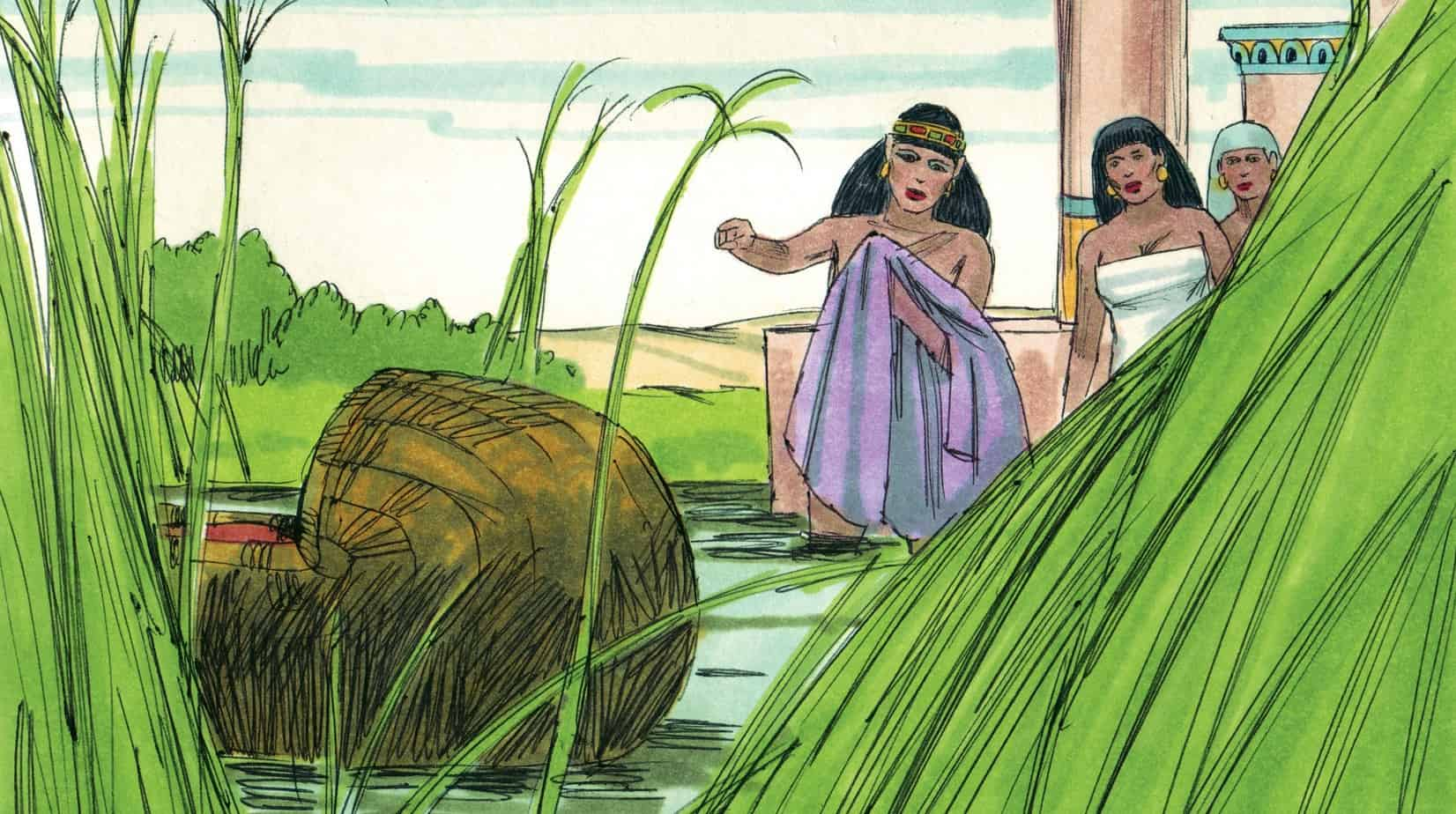 Skit Moses And The River Ministry To Children