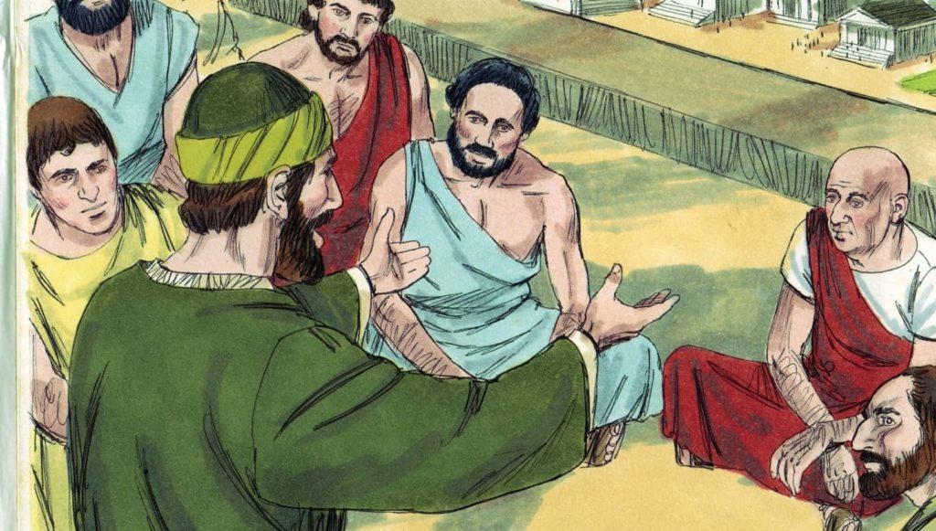 Paul-teaching-preaching