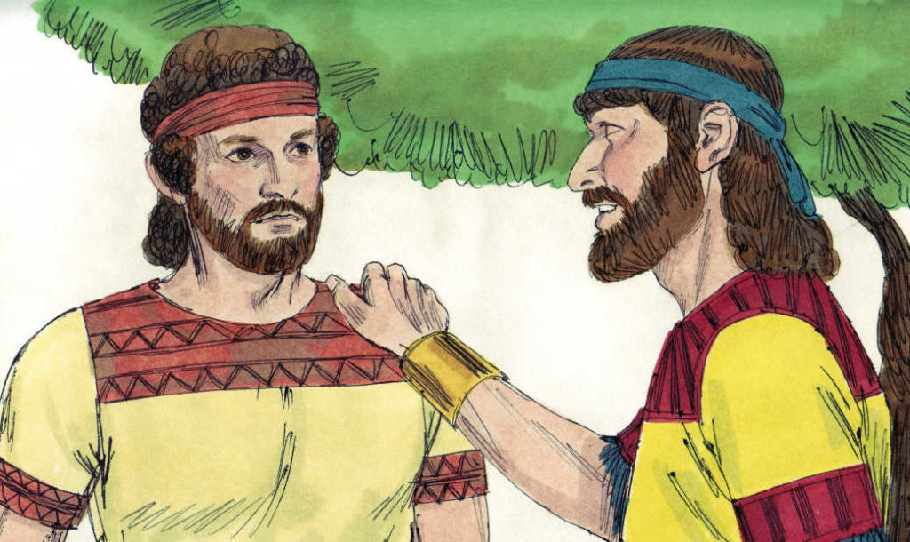Bible Lesson David And His Friend Jonathan Ministry To