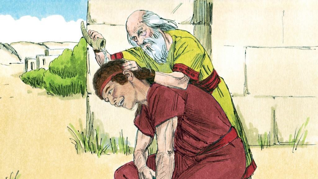 Free David Chosen King Coloring Pages