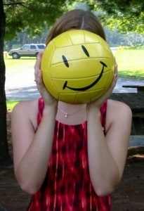 be-happy-face-ball