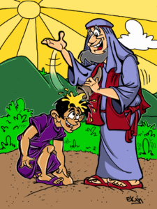 samuel-anoints-david-cartoon